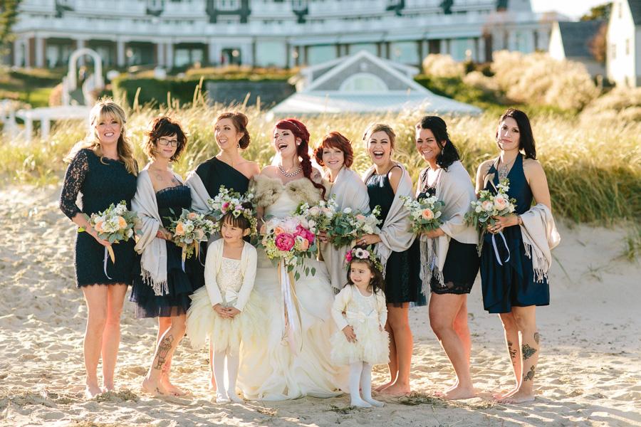 Punk Rock Cape Cod Wedding