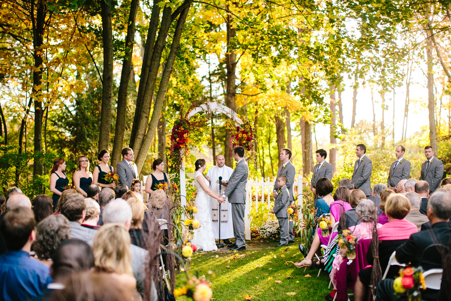 Three Chimneys Inn Wedding Ceremony