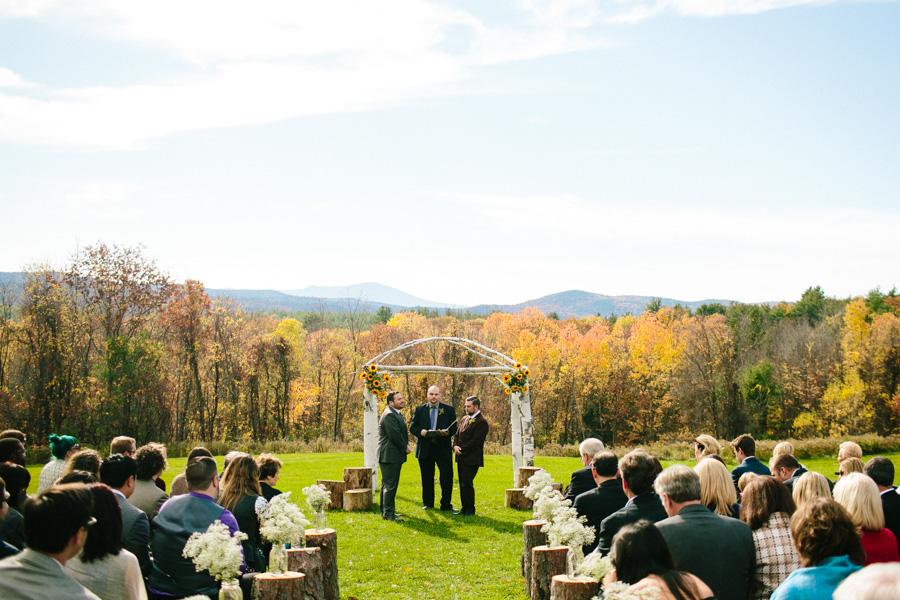 DIY New Hampshire Wedding Ceremony