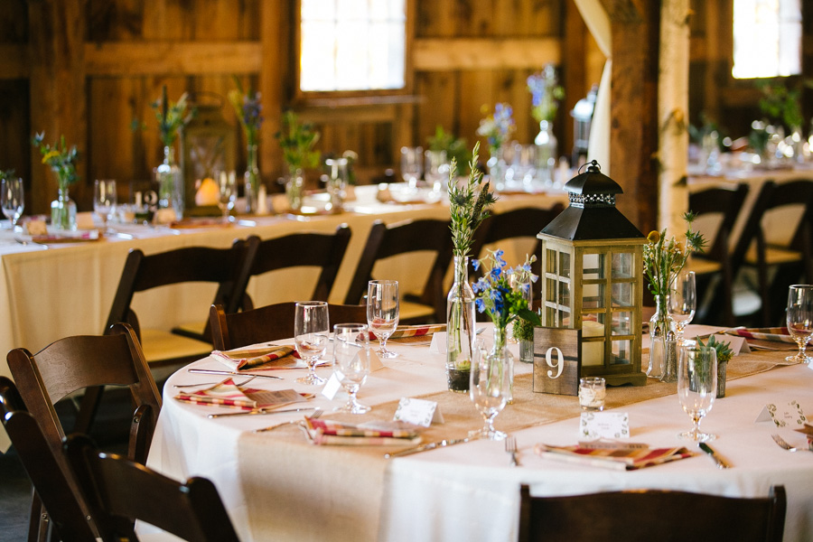 Longlook Farms Wedding Reception