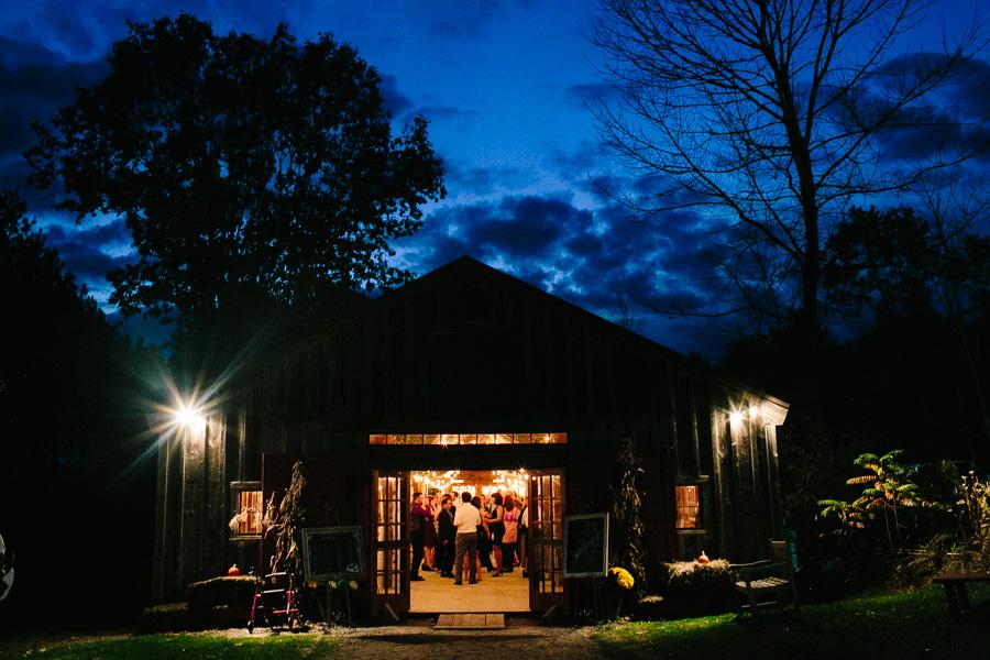 DIY New Hampshire Wedding Reception