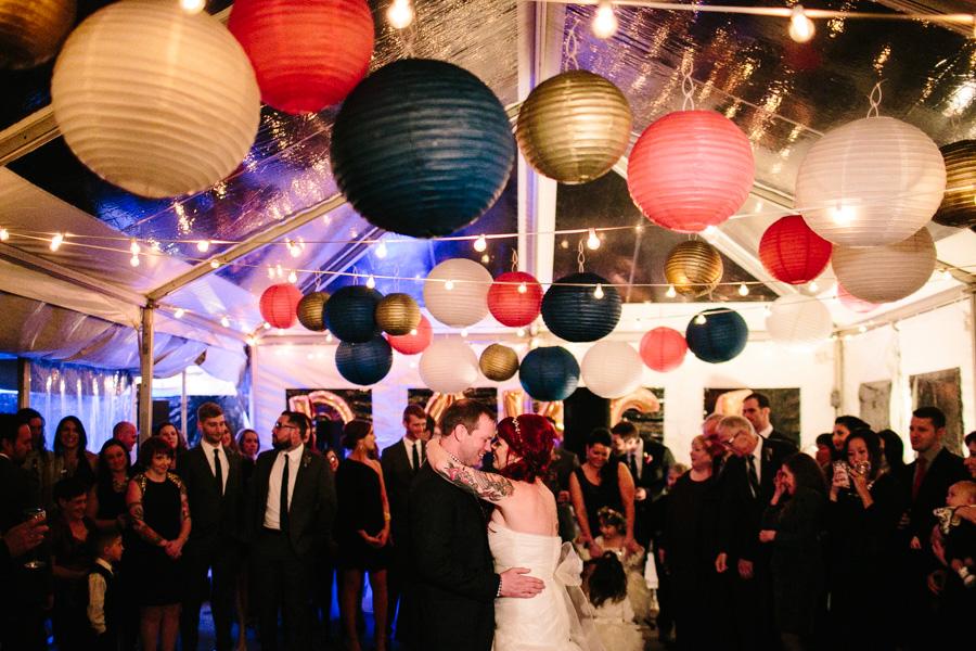 DIY Cape Cod Wedding Reception