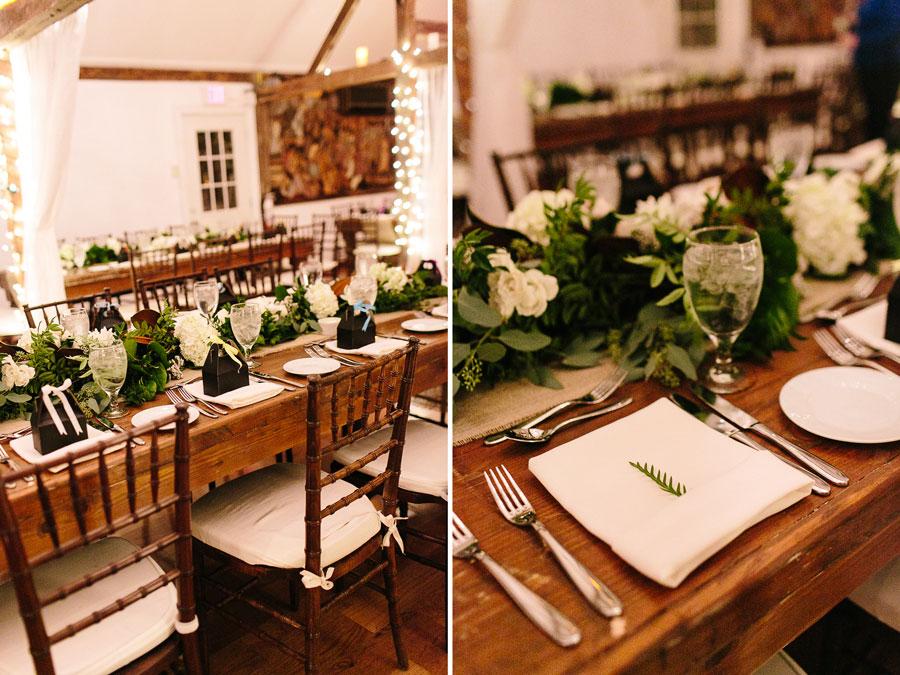 DIY Farm Wedding Reception Details