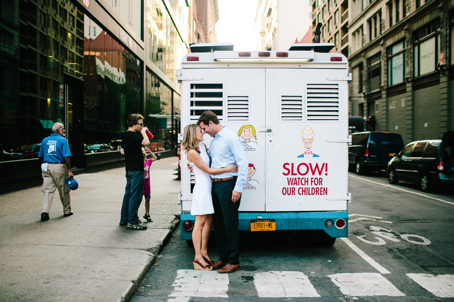 Ice Cream Truck Engagement Session