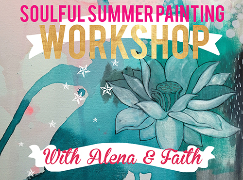 Ashville, SC painting retreat with Faith Evans-Sills