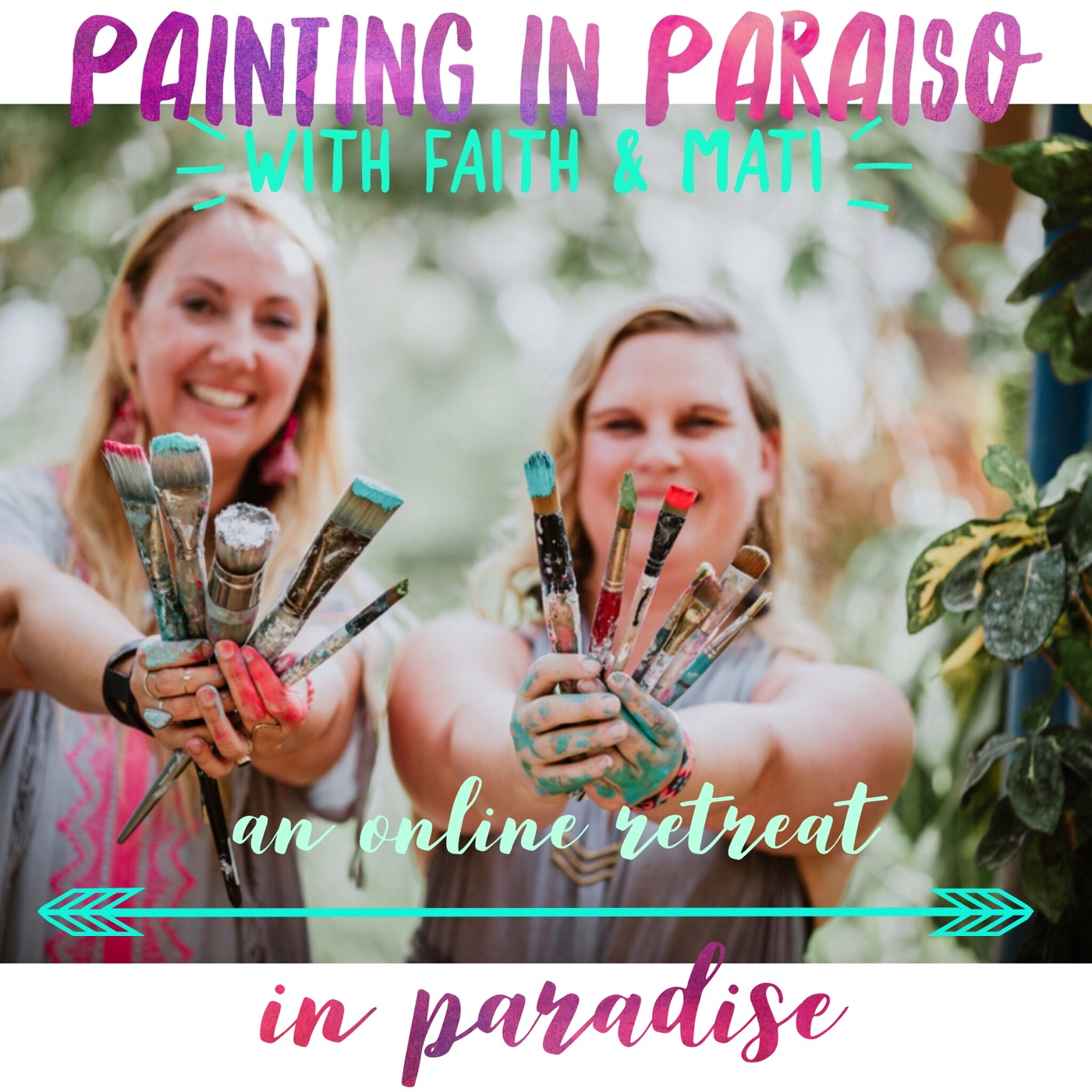 Painting in Paraiso: Our Online Retreat in Paradise
