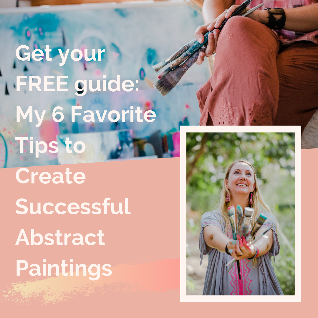 I'm sharing my secrets. Real talk, tips and tricks to grow your painting skills! - GRAB YOUR FREE COPY AND GET STARTED PAINTING TODAY!