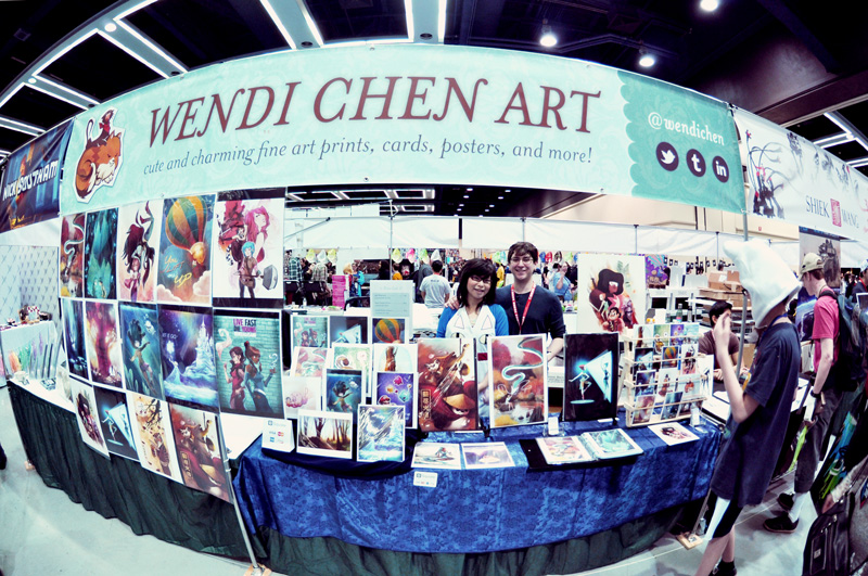 ECCC Booth Set-up