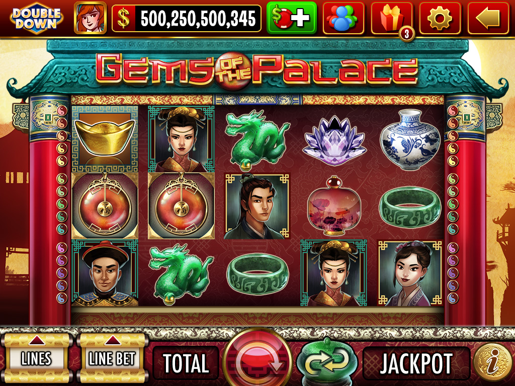 Gems of the Palace - Slot Game Screen