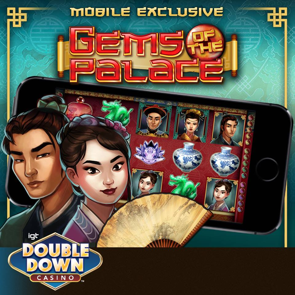 Gems of the Palace - Promotional Ad for Mobile Devices