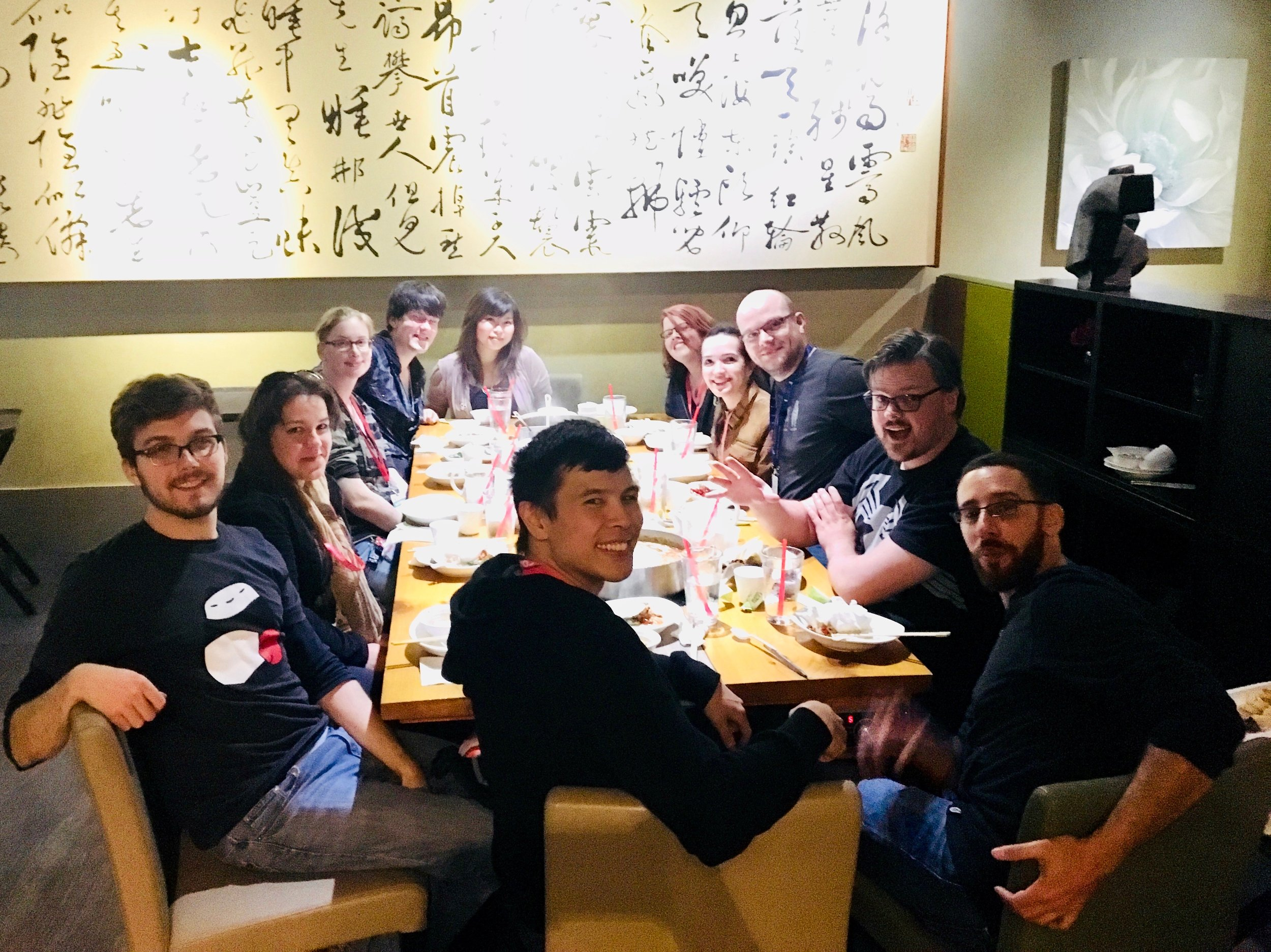 Post-convention hotpot crew (1/2)