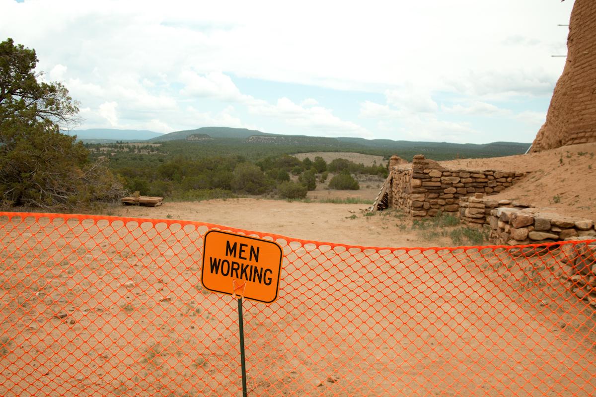Men Working, hard.    [July, 2013; Pecos, NM]