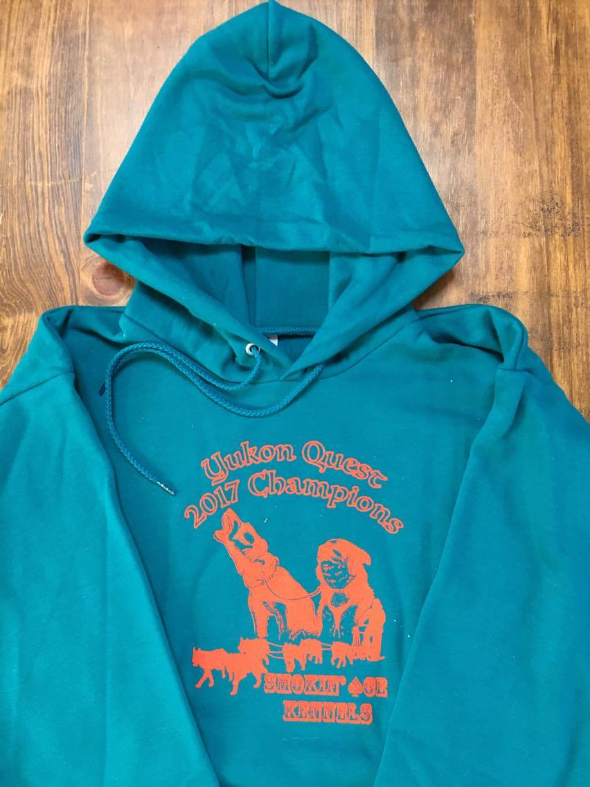Retro Hoodie - We're spicing things up with our Retro Teal Limited Edition YQ Champ Hoodies! Also available in Vintage Red and Alaskan Charcoal.$50