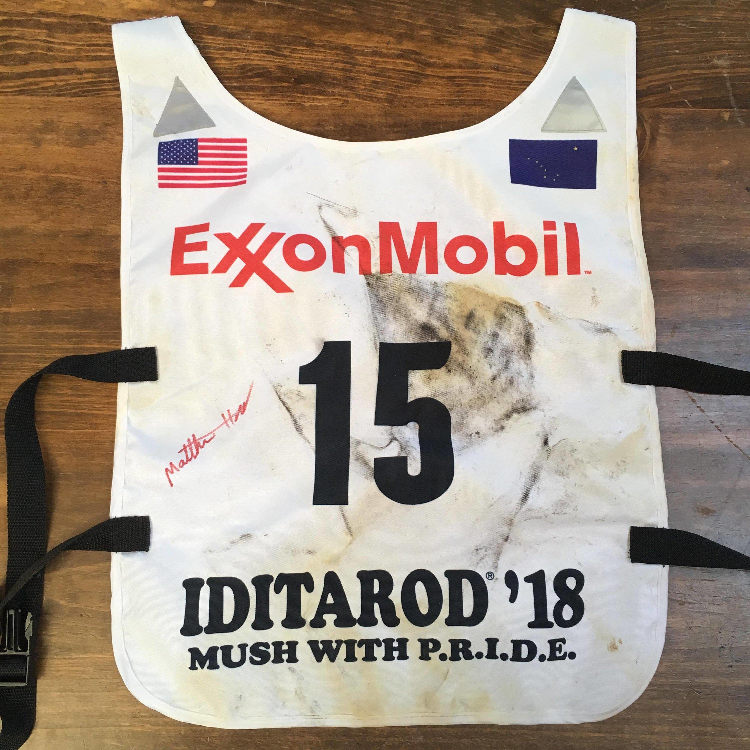 2018 Iditarod Bib #15