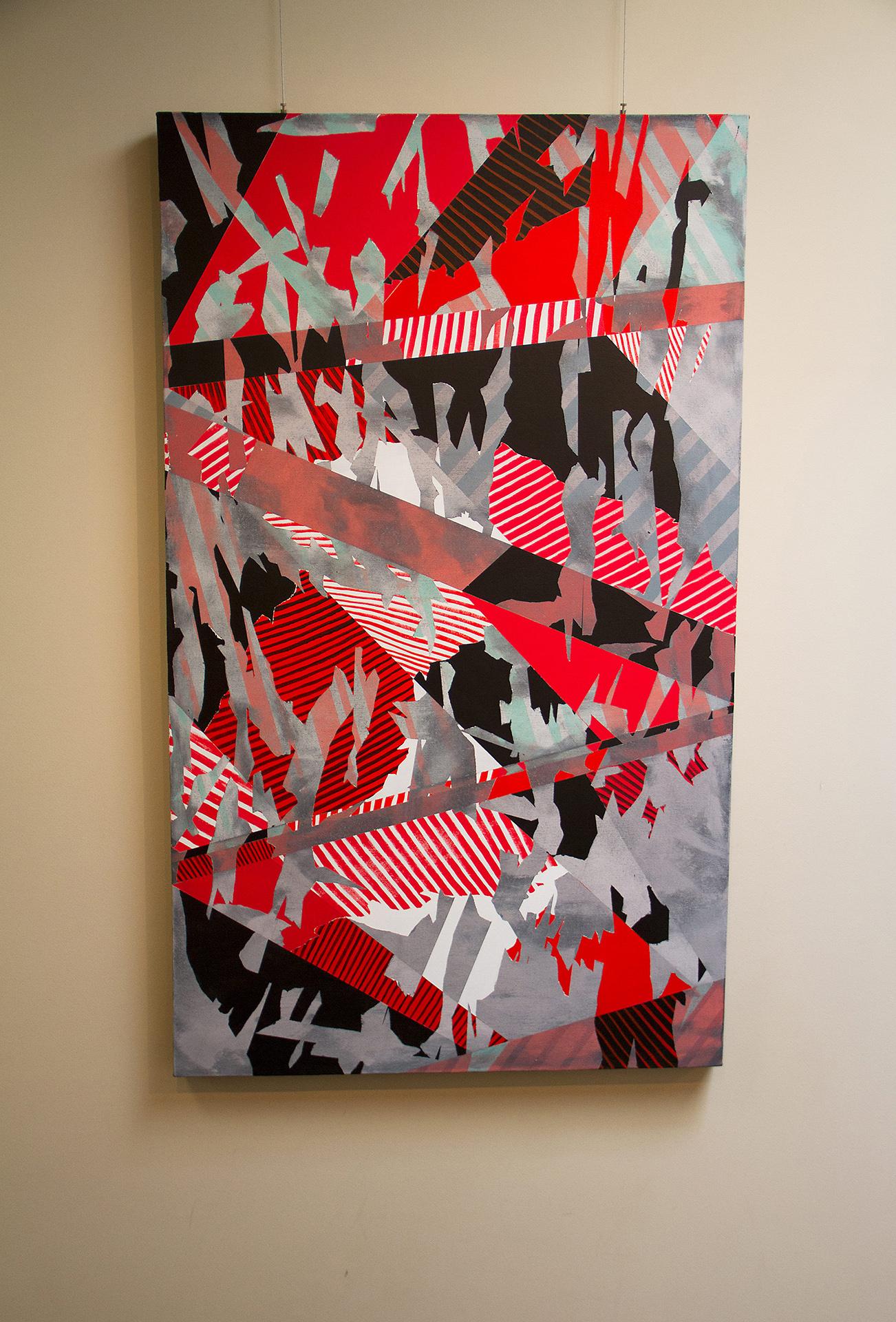 Levi Nelson - Kintsugi - Acrylic on canvas