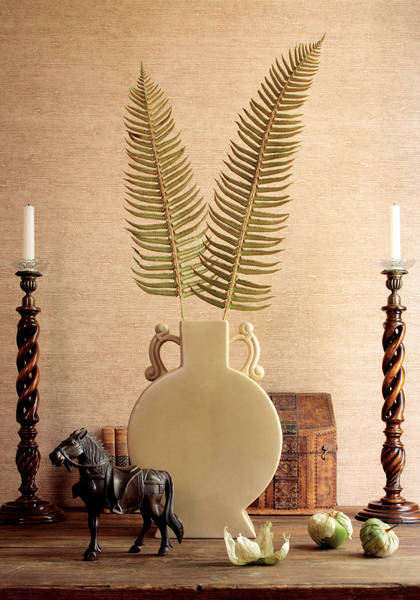 Thibaut Anguilla Weave Wallpaper in Tobacco
