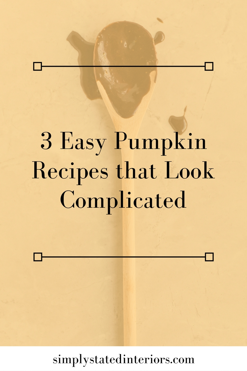 3 easy thanksgiving pumpkin recipes