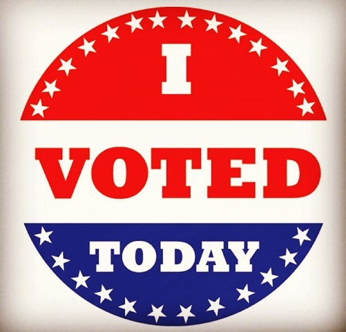 You have a voice and it's your right......EXERCISE IT!  I did!! Proud American, proud Veteran, proud that I am able to make a choice!  #vote #simplystatedinteriors