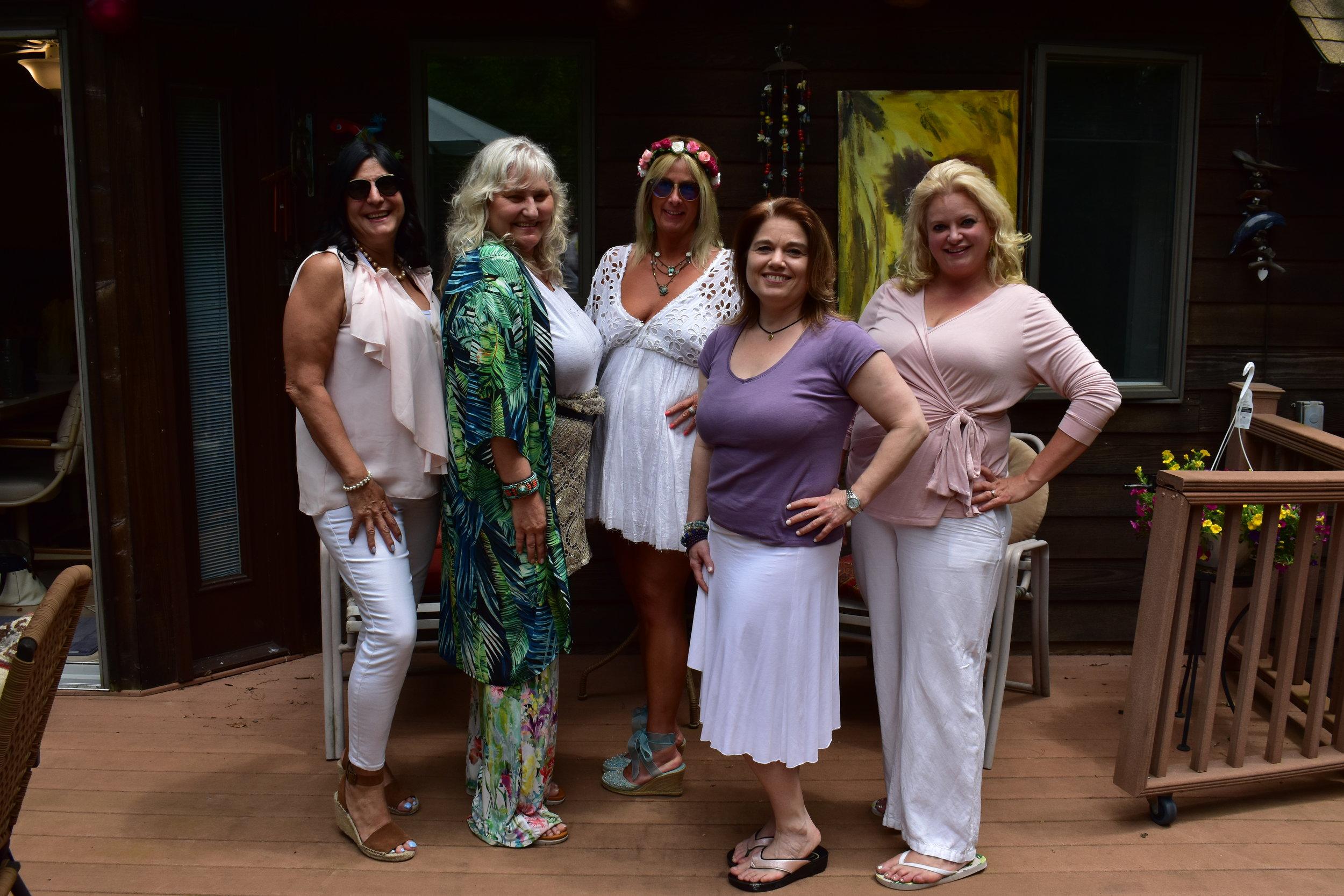 Stellar luxe feminine vitality and longevity flow with our sisterhood tribe