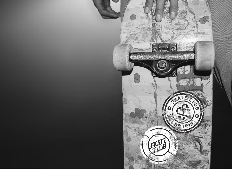 skate club stickers