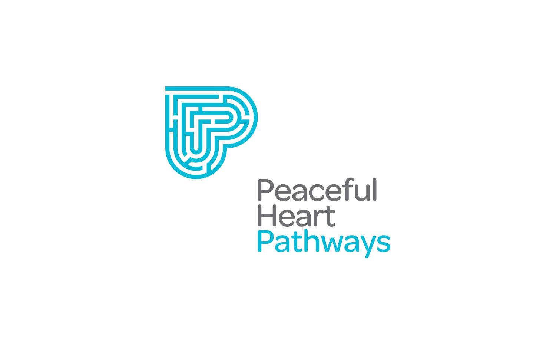Peaceful Heart Pathways logo design