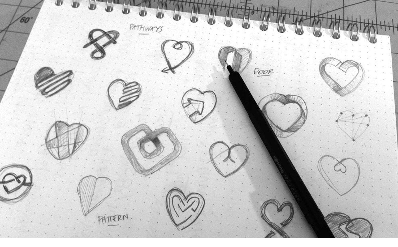 Peaceful Heart Pathways working drawings