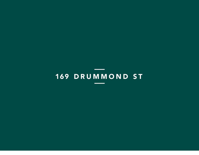 169 drummond street wordmark
