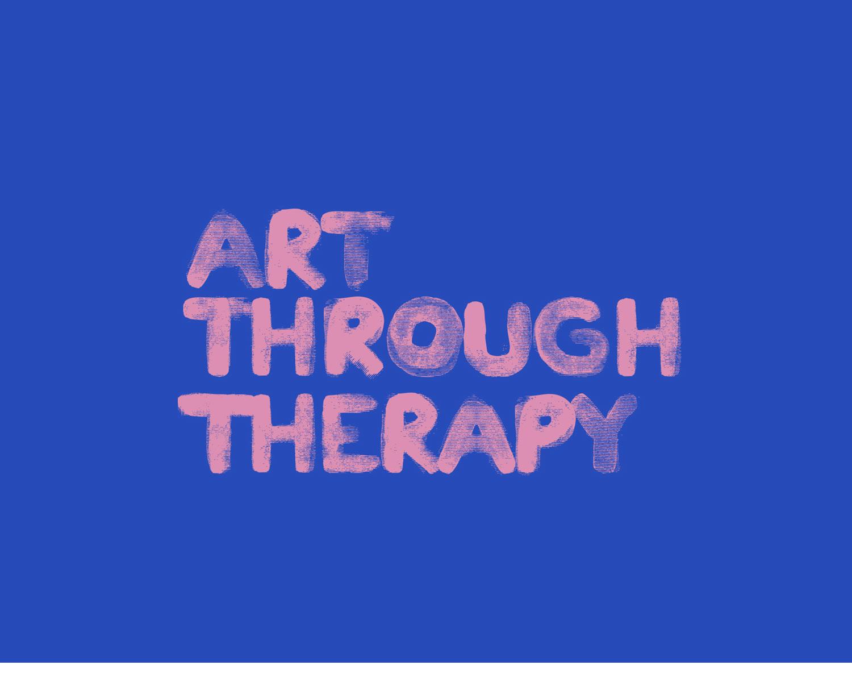 art through therapy logo design  and branding design