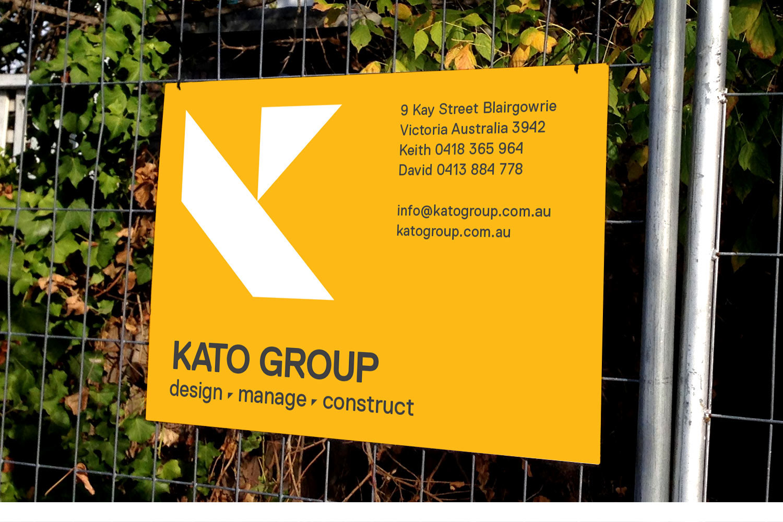 Kato Groupsite sign