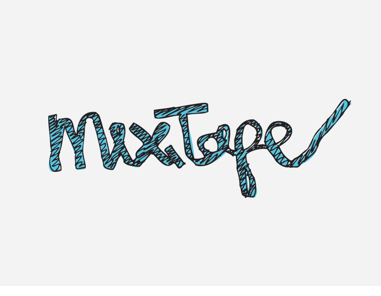 mixtape zine logo design
