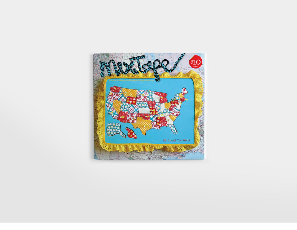 mixtape zine magazine cover