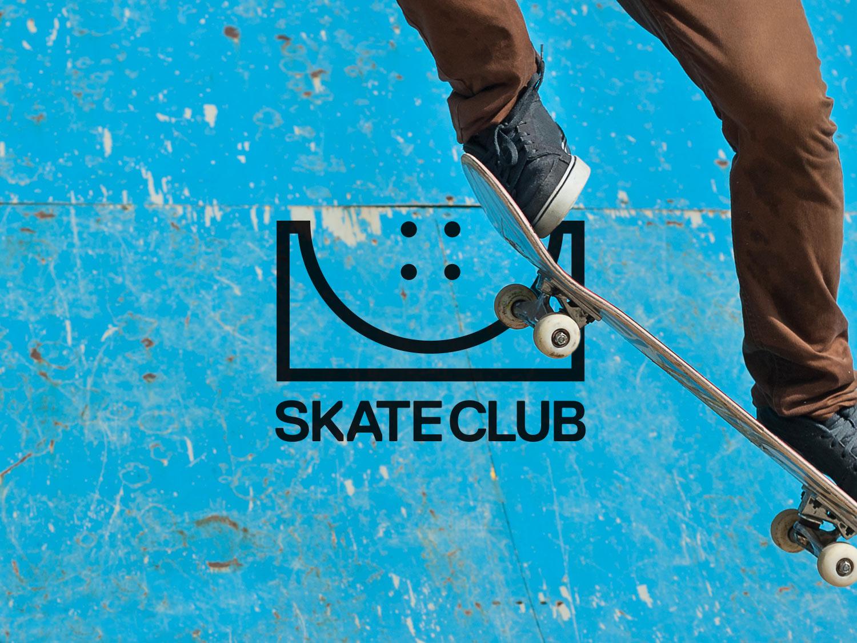skate club logo design