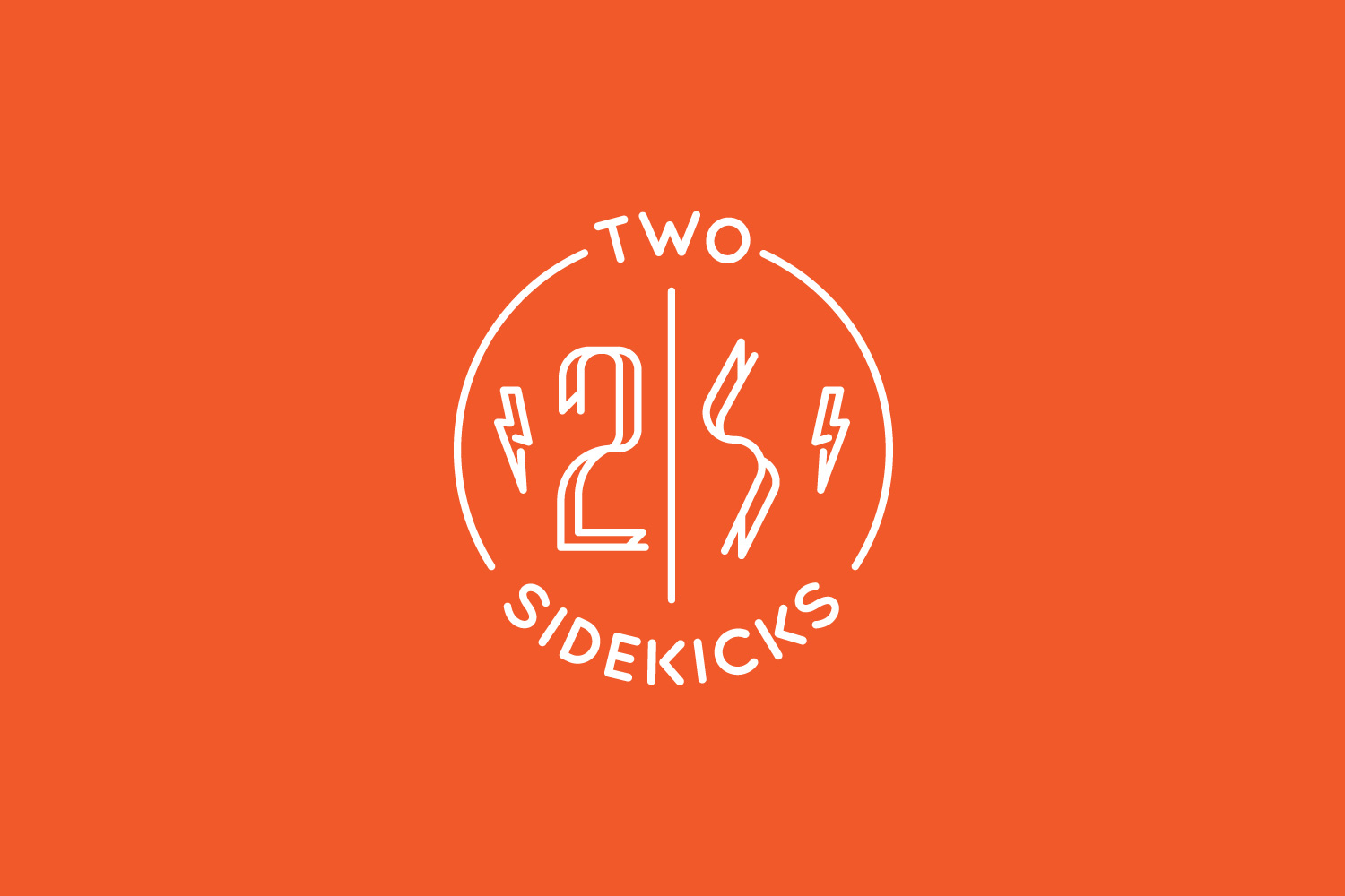 two sidekicks branding design logo design