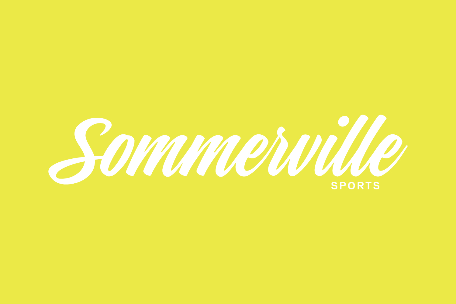 sommerville sports branding and logo design