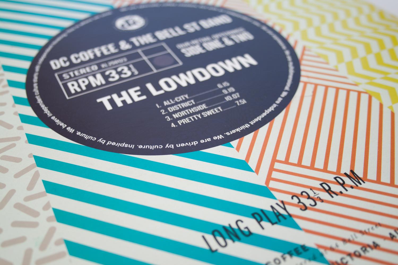 dc lowdown packaging label