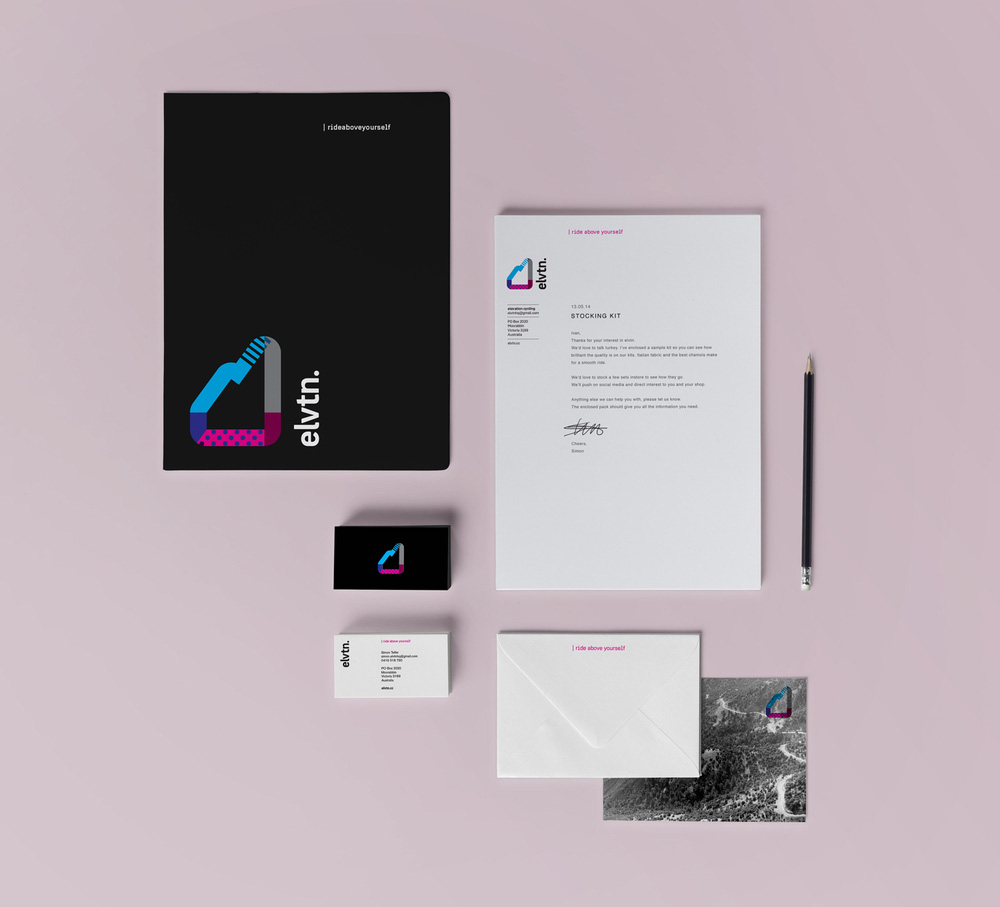 elvtn collateral design