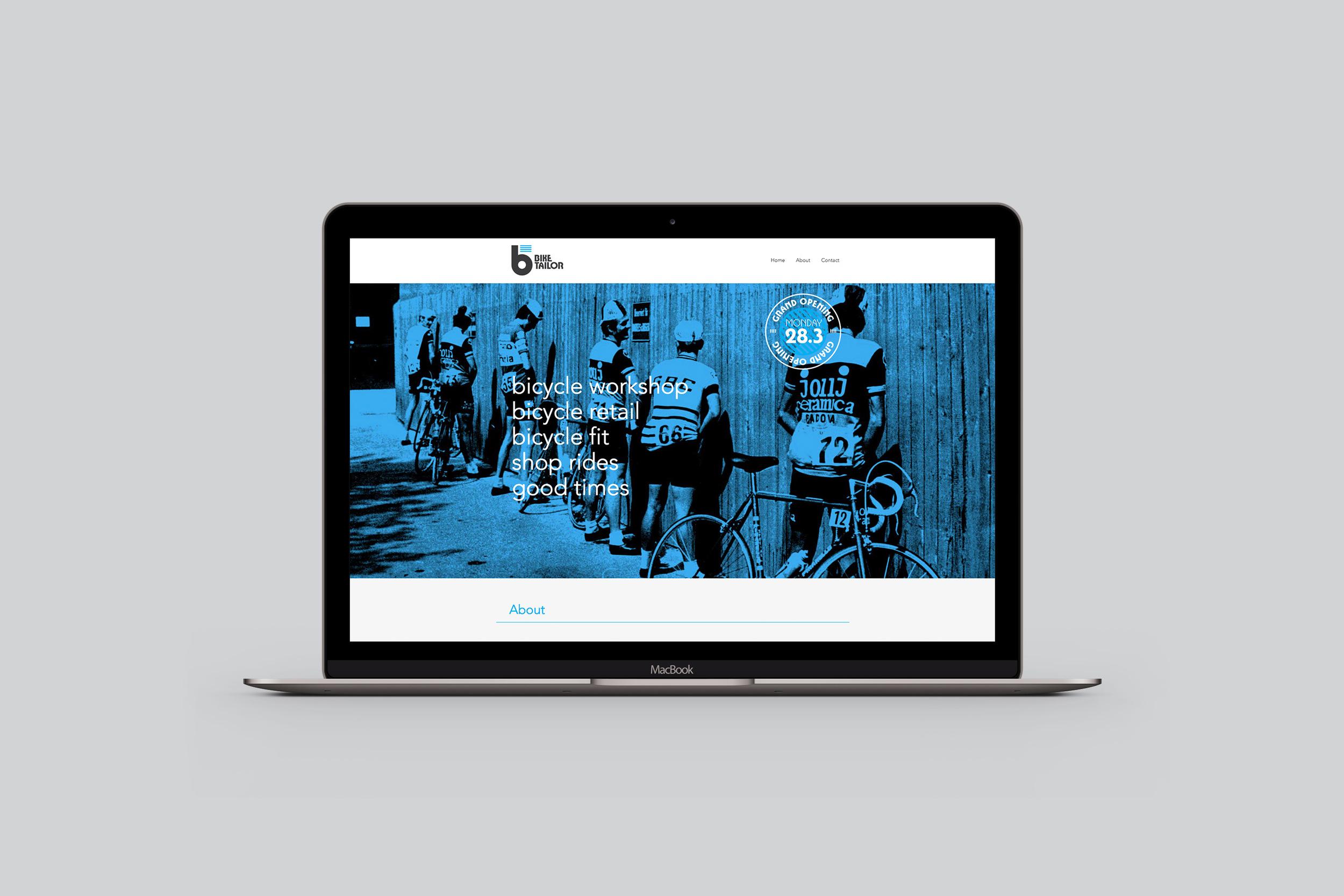 Bike Tailor website