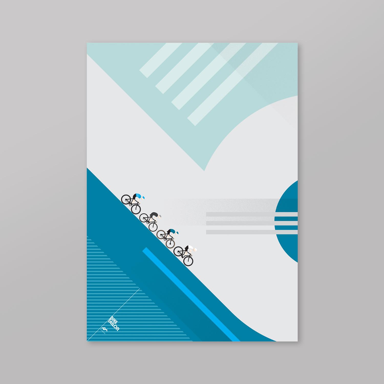 Bike Tailor custom poster