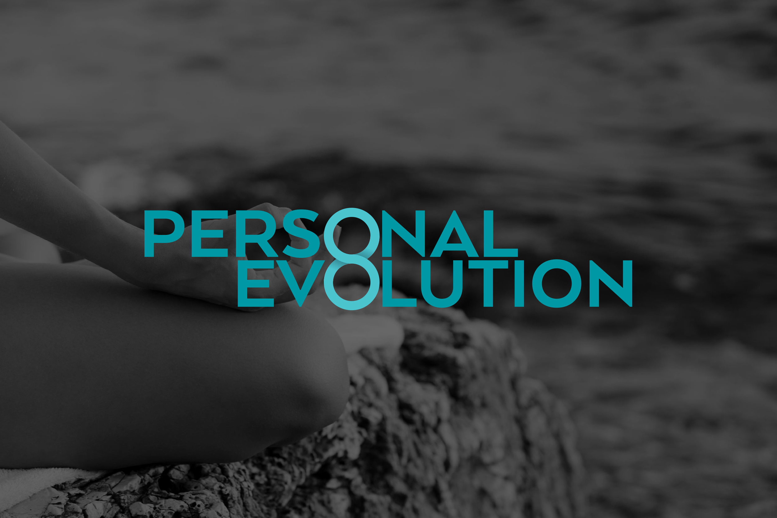 personal evolution wordmark