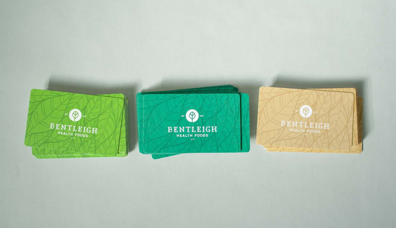 Bentleigh Health Foods business cards