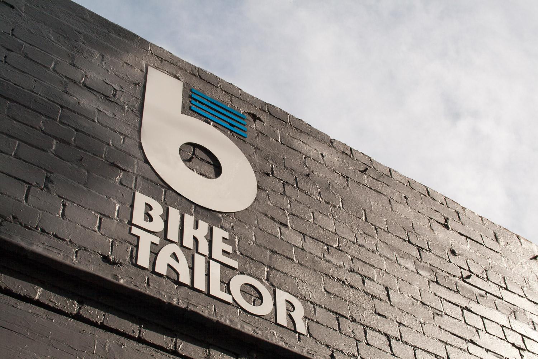 Bike Tailor signage