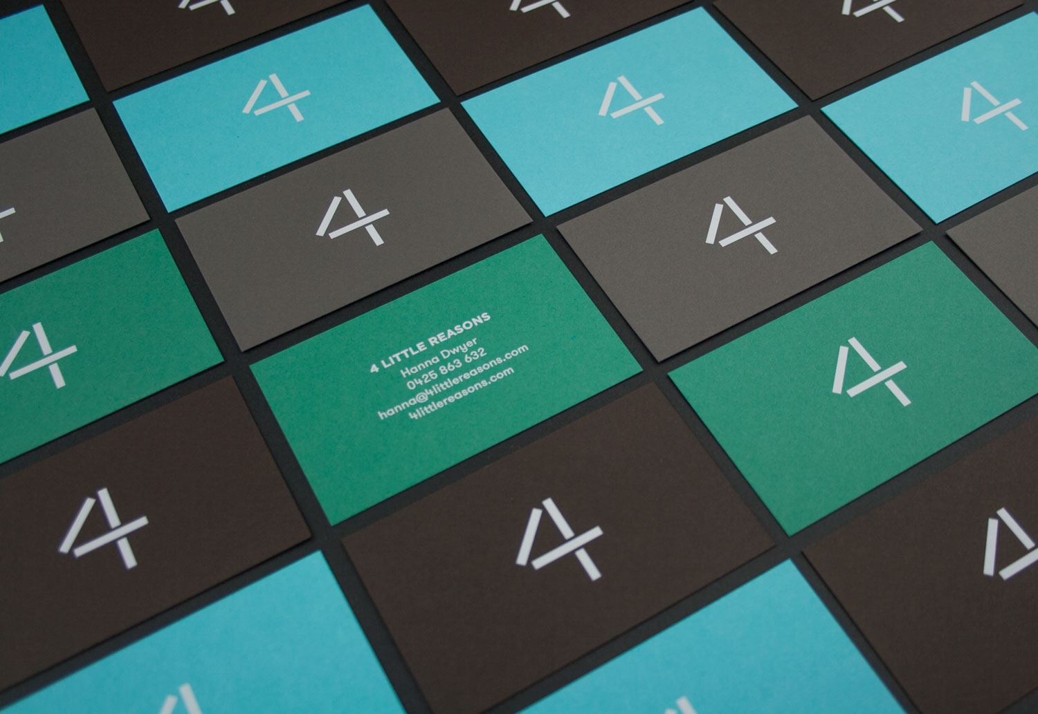 4 little reasons business cards