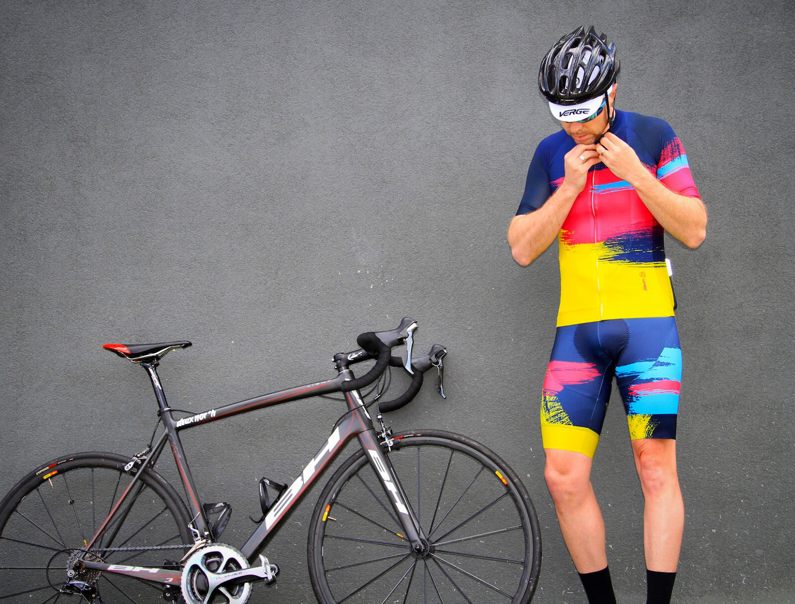 verge sport x created by south kit collaboration