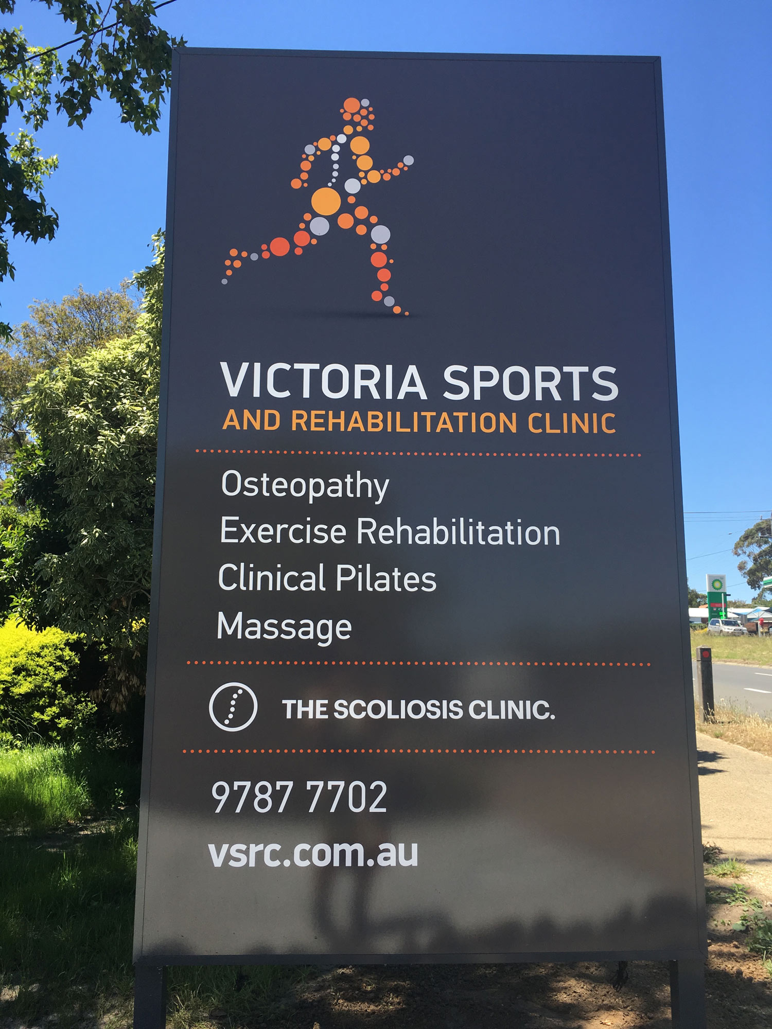 VSRC Signage Design, environmental signage, created by south