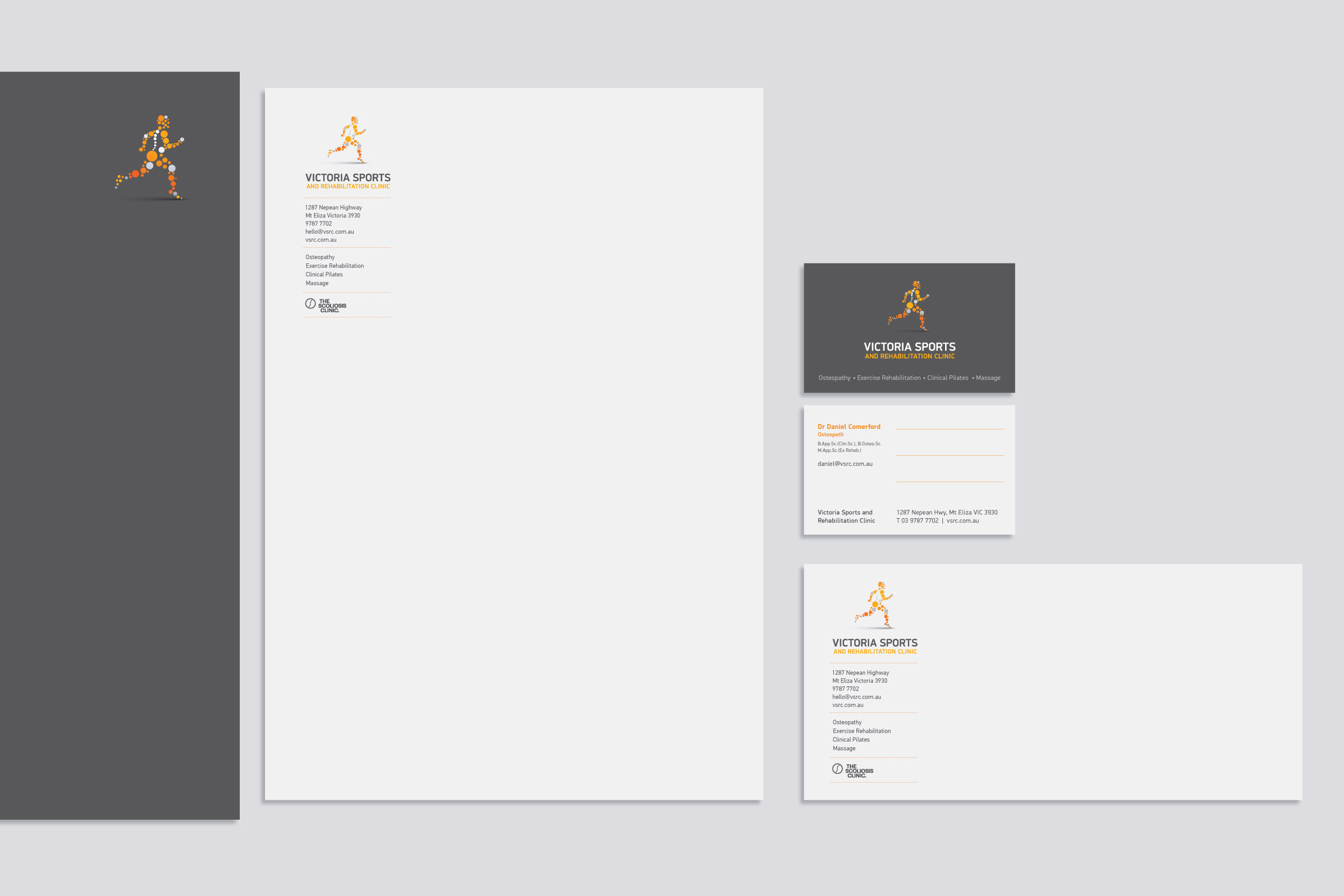 VSRC collateral design, created by south design