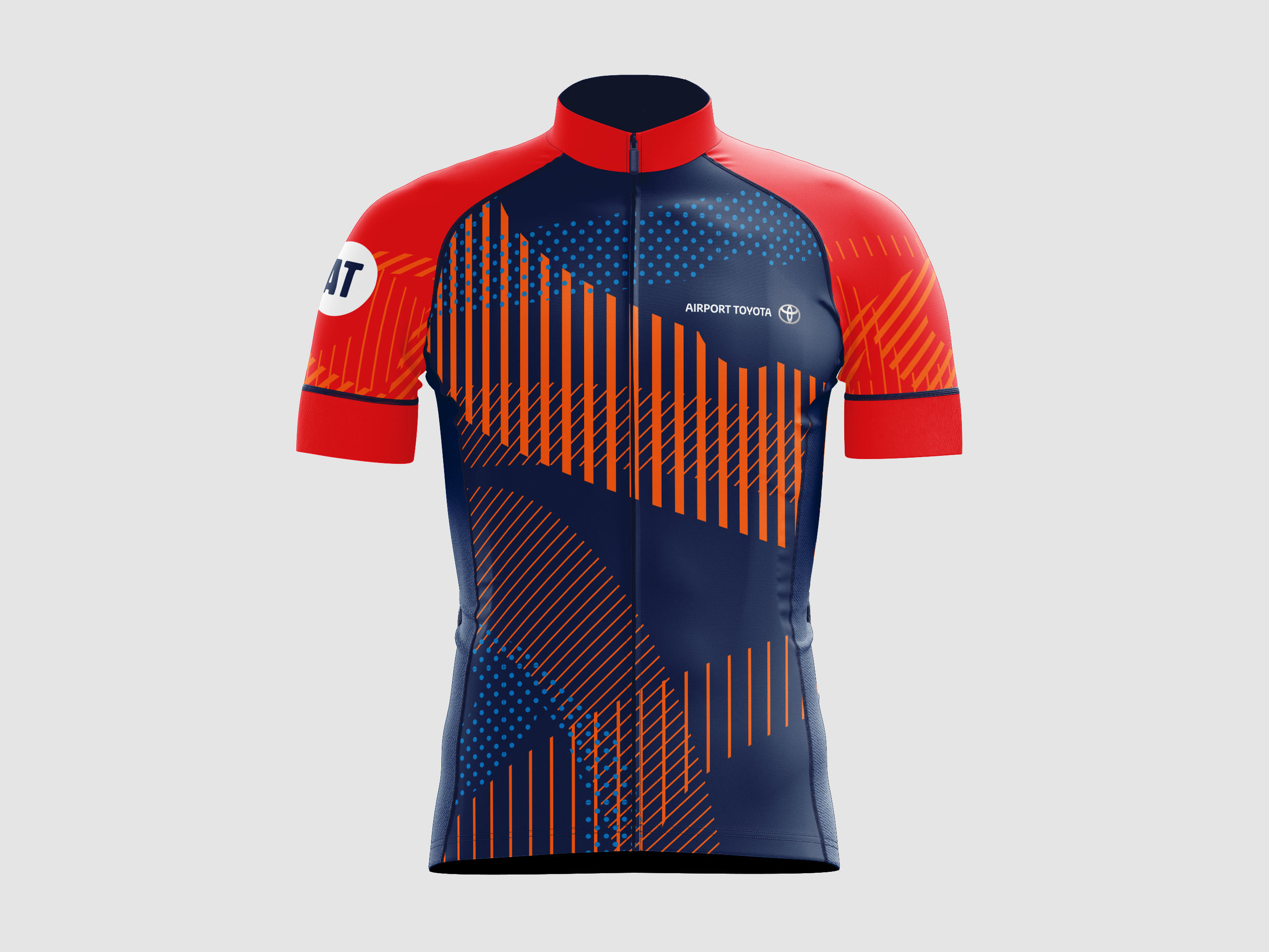 Airport Toyota Cycling Kit manufactured by Babici