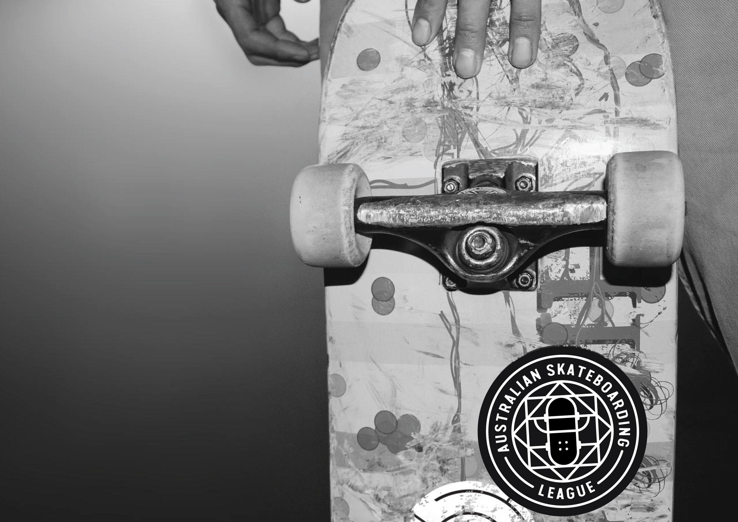 Australian Skateboarding League stickers Graphic design melbourne, branding design melbourne, branding design, packaging design melbourne, design studio melbourne, graphic design