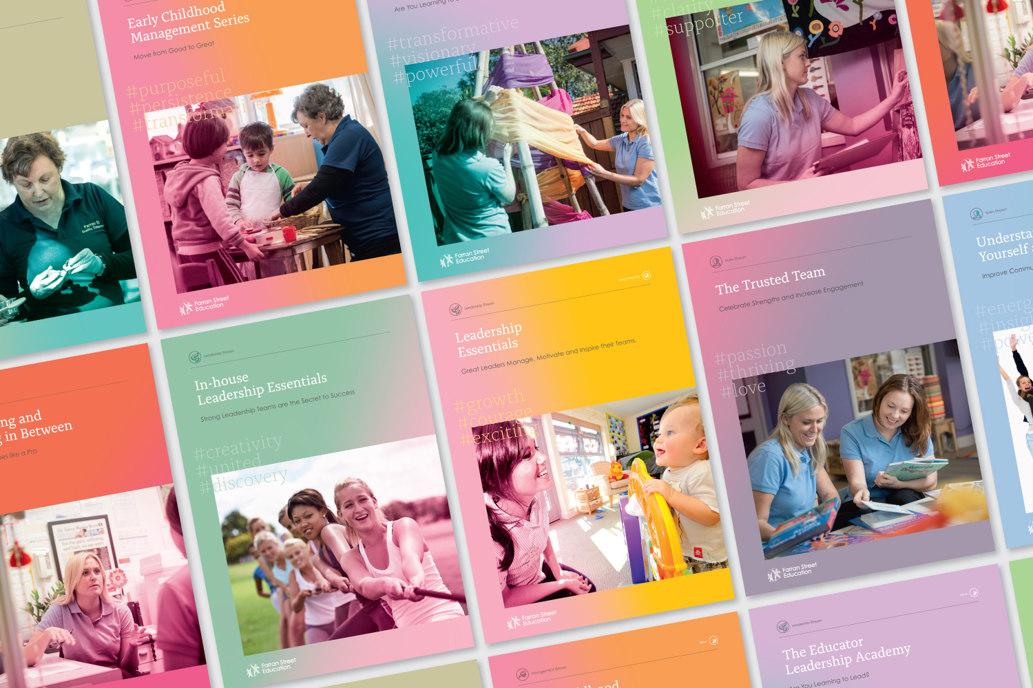 Farran Street Education - Publication Design