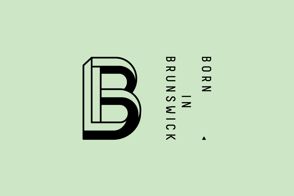 Born in Brunswick - Branding, Collateral