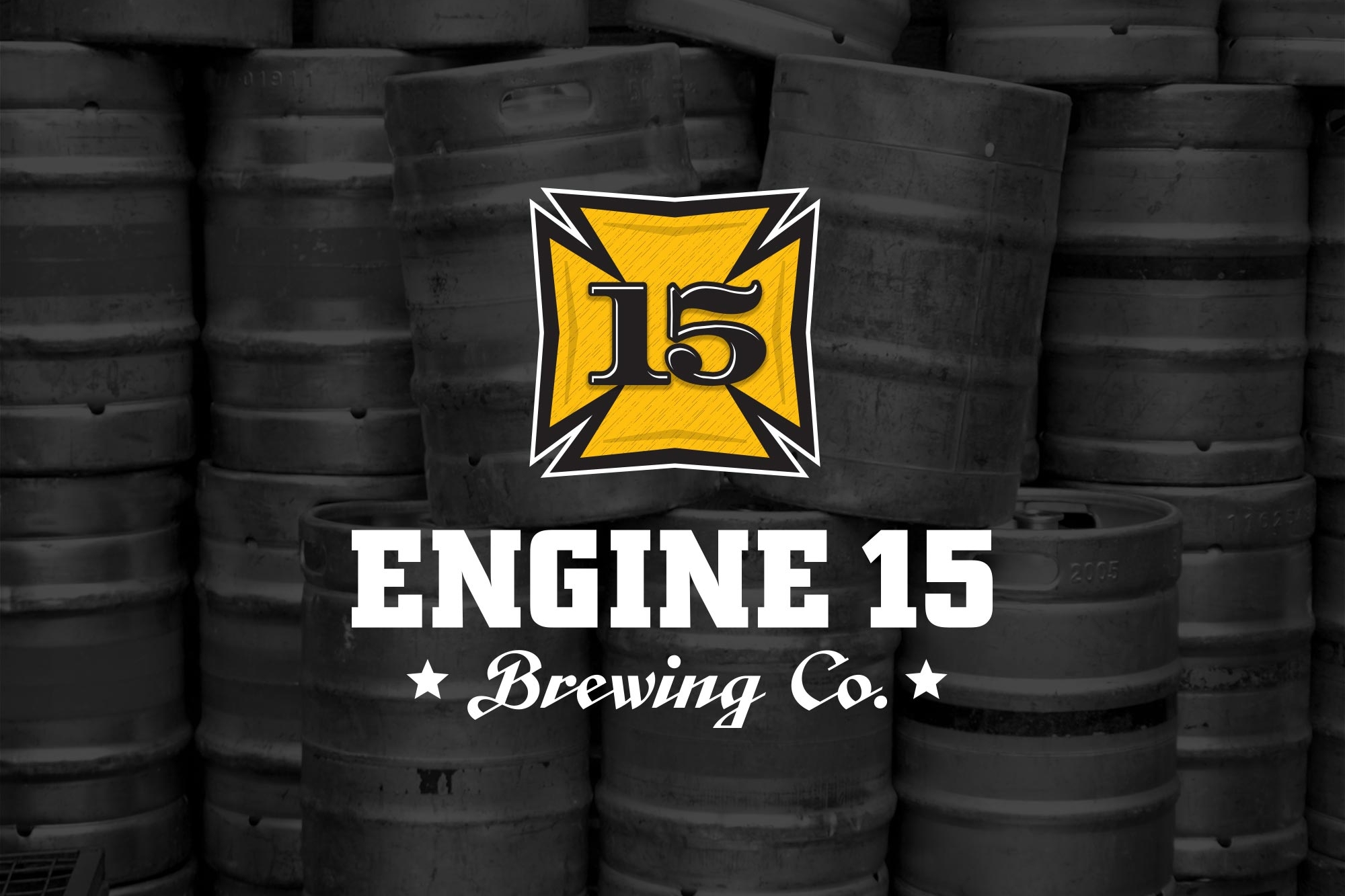 Engine 15 Brewing - Branding